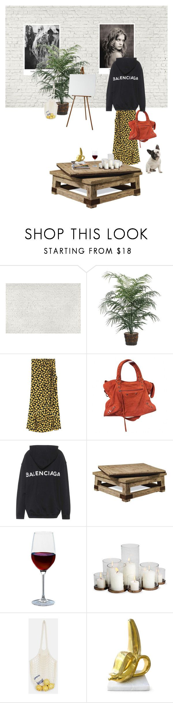 """Untitled #244"" by fashiondisguise on Polyvore featuring interior, interiors, interior design, home, home decor, interior decorating, 1Wall, Balenciaga, Ralph Lauren and Artland"