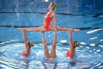 § Renseignement sur la natation synchronisée