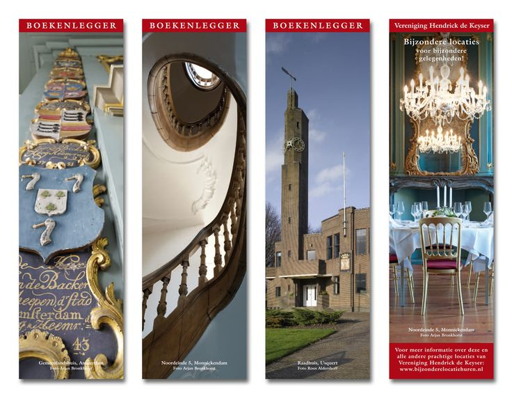 Set of 35 bookmarkers Vereniging Hendrick de Keyser
