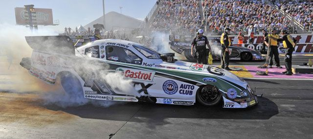 John force at las vegas motor speedway october 25 2013 for Las vegas motor speedway drag strip