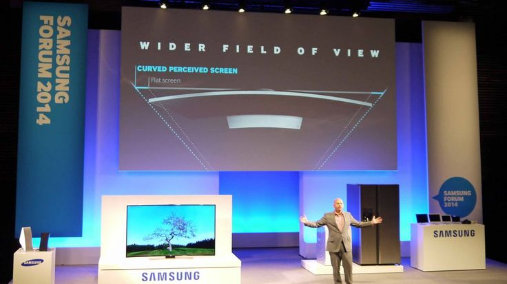 Samsung: Curved TVs are the logical step for 4K in the home | Still not convinced by curved TVs? Well, here's Samsung's reasoning behind them. Buying advice from the leading technology site