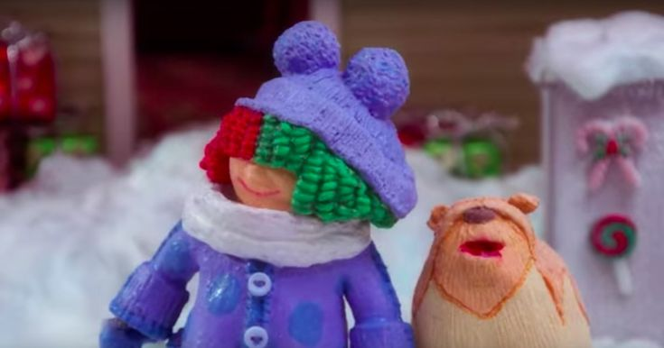 Watch Sia's Claymation Christmas Video for 'Candy Cane Lane' #headphones #music #headphones