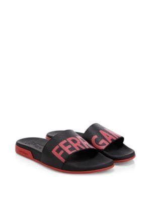 f22f80960 SALVATORE FERRAGAMO Amos Slides.  salvatoreferragamo  shoes ...