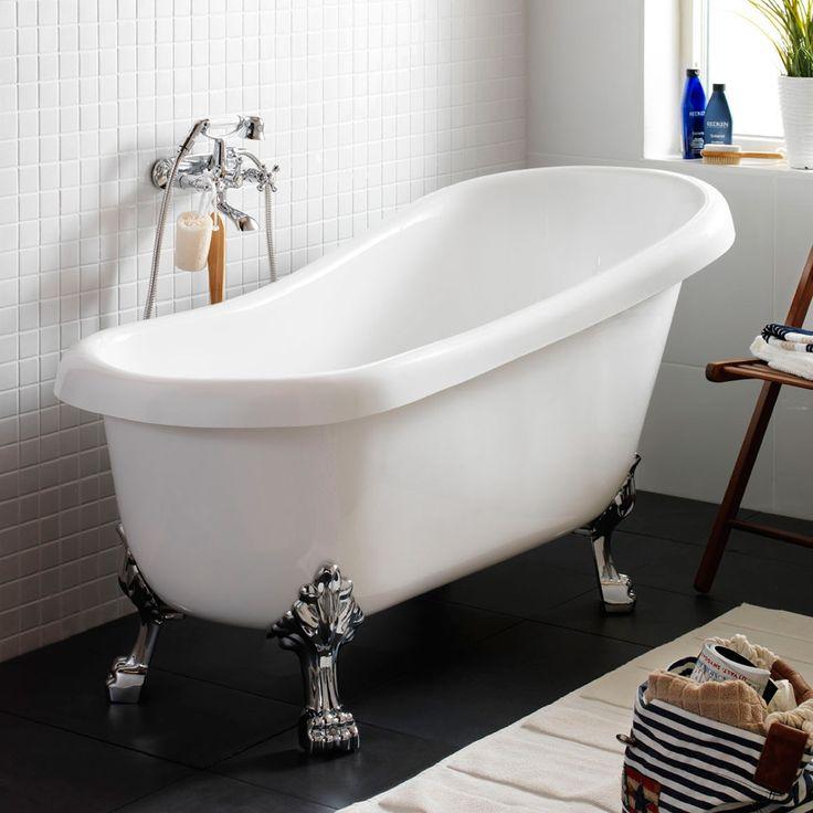 1443001   Hafa Mayfair Fristtstående badekar 1550x700 mm, Hvit