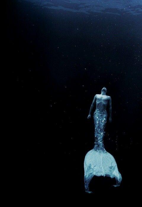 water, ocean, mermaid, photography
