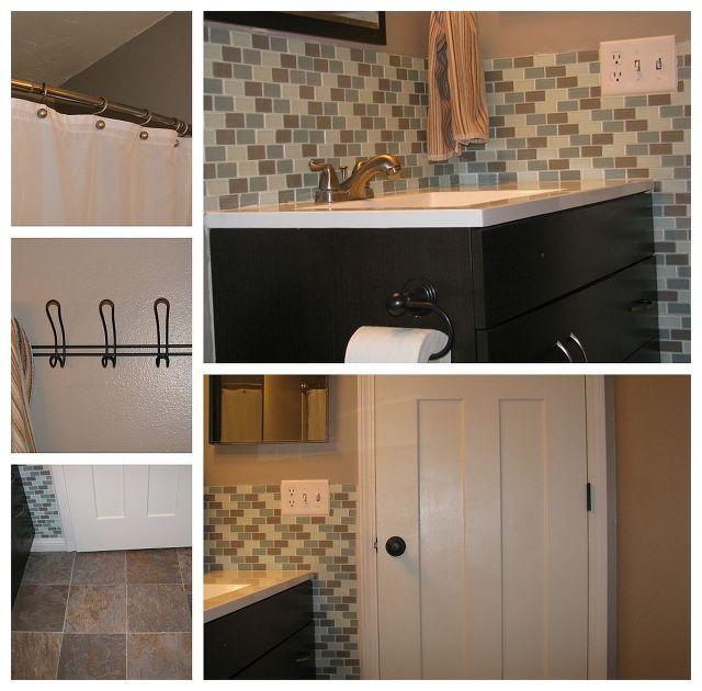 small bathroom remodel, bathroom ideas, small bathroom ideas, Small bathroom big impact