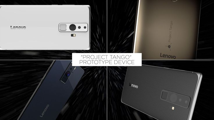 Lenovo is making the first consumer phone with Google's Project Tango