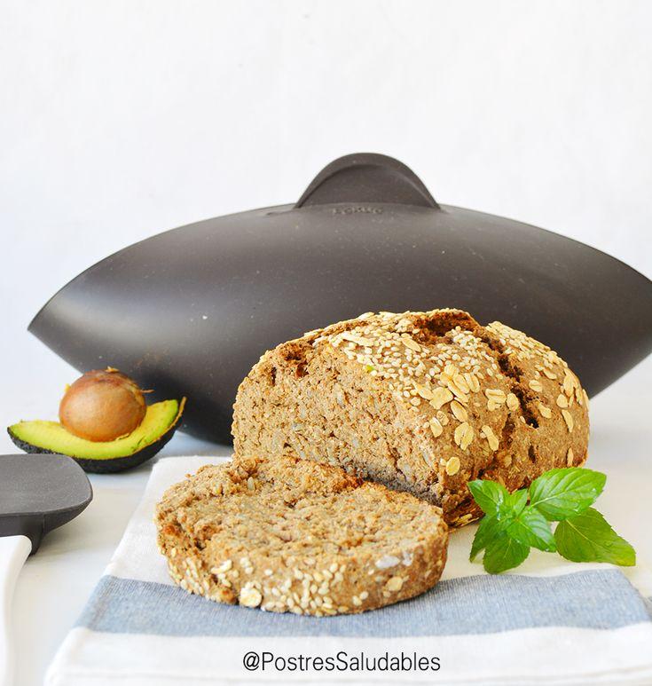 Postres Saludables | Pan casero saludable | Healthy homemade bread