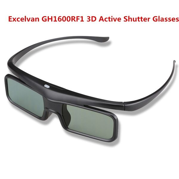 Geek | Excelvan GH1600RF1 Bluetooth 3D Active Shutter Glasses for Samsung…