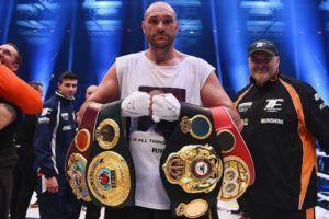 Tyson Fury Abdicates WBO and WBA Heavyweight Titles