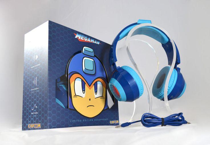 Capcom® Mega Man™ Headphones Blue