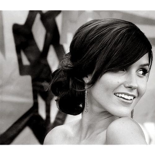 hair: Hair Ideas, Wedding Hair, One Trees Hill, Bridesmaid Hair, Low Side Buns, Sophia Bush, Hairstyle, Hair Style, Low Buns