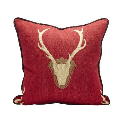 Faux Deerskin Pillow : TOSS by Daniel Stuart Studio Oh Deer Cotton Throw Pillow & Reviews Wayfair Texas Home Decor ...