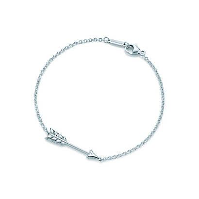 Tiffany Hearts® arrow bracelet in sterling silver, large.