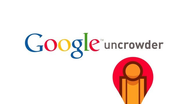 Google Uncrowder by Zeketo. Now people can distribute in different points avoiding crowding and traffic by using the same technology of Google Maps to measures traffic. Emiliano Salmón, Fernando Carrión, Sergio Garza, Gerardo Saavedra (Grillo) y David Bustamante (Bobby).