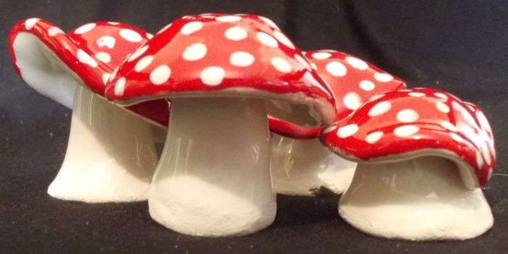 Handbuilt Paperclay Mushrooms! So easy to make & So much Fun