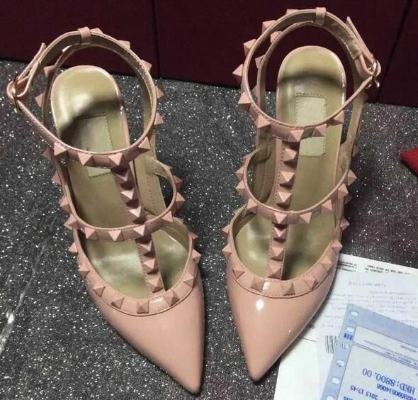 Check out our website for nice shoes and find good aaaaa women rockstud ankle strap pump 6.5cm 9.5cm heels calfskin sheepskin high heels sandals size 34-41 with box dust bag receipt for your party. realfine888 provides gorgeous and amazing skechers shoes, mens dress shoes and prom shoes here.