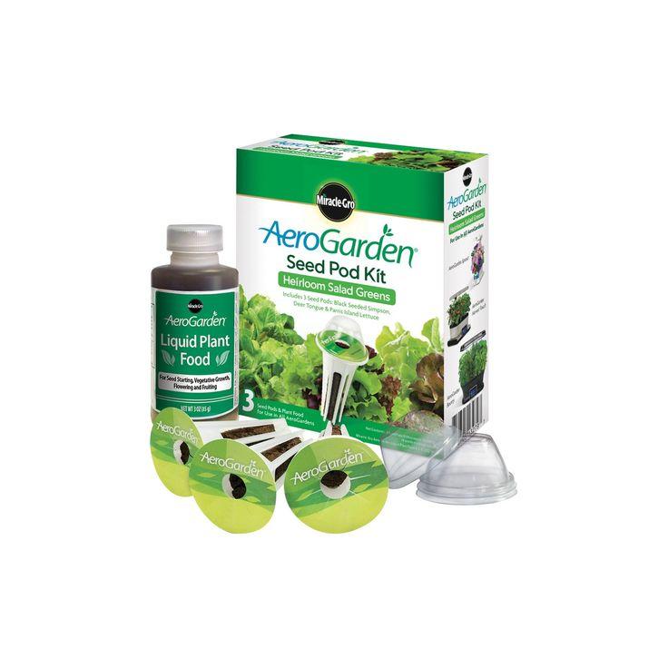 Miracle-Gro AeroGarden Heirloom Salad Greens Seed Pod Kit (3-Pod)