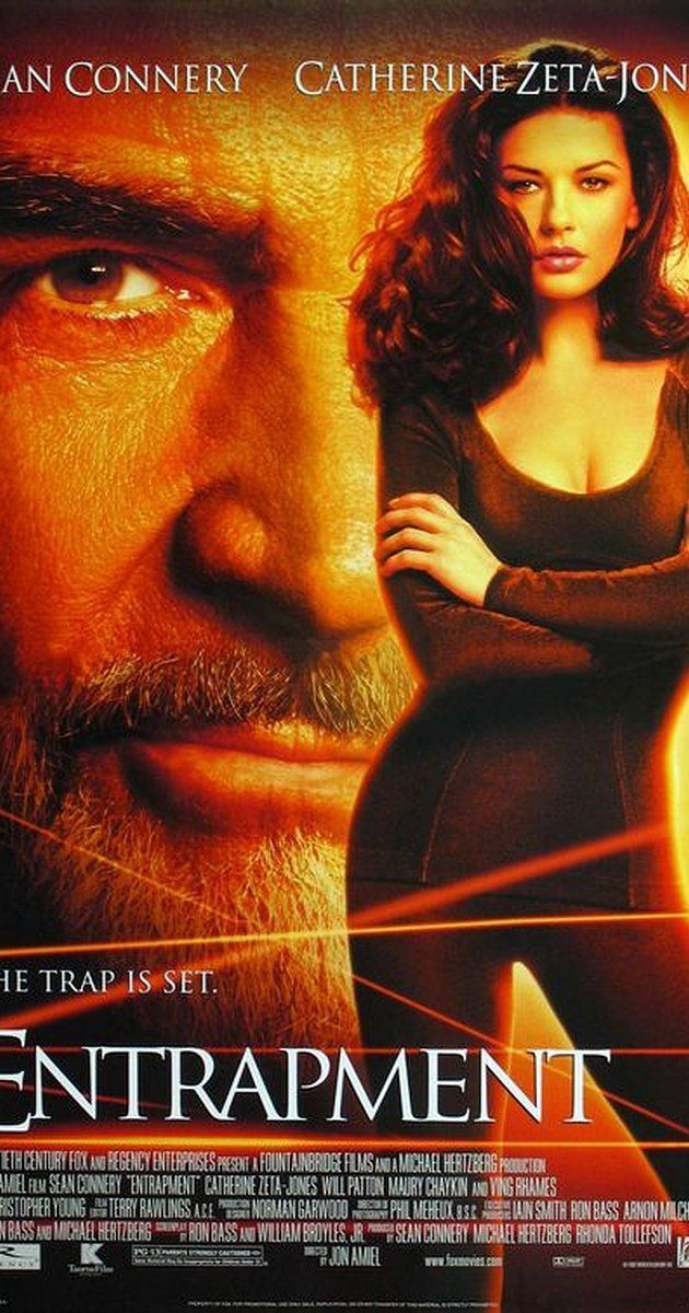 Directed by Jon Amiel.  With Sean Connery, Catherine Zeta-Jones, Ving Rhames, Will Patton. An insurance agent is sent by her employer to track down and help capture an art thief.