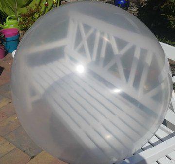Transparante mega grote xl ballon