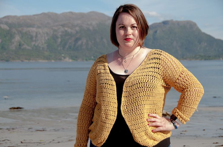 Summer Cardigan Crochet Pattern    ★ Crochet pattern for the Summer Cardigan, a lacy and quick cardigan to make.  ★ Perfect to make for the warmer season.  ★ S-XL.  ★ Skill level: EASY  ★ Language: English / US crochet terms.    The Summer Cardigan crochet pattern is a pattern that's perfect for summer. It's designed with cotton yarn, which makes it a good fit for the warmer season. It stitches up quickly and you'll be able to make it in just one week or less with crocheting a fe