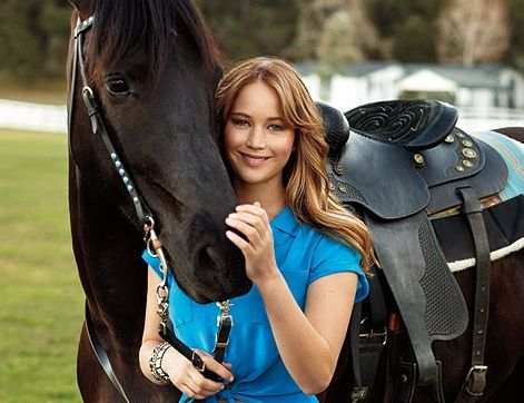 Five Horsey Things You Didn't Know About Jennifer Lawrence. A. Shaelin loves Katniss. B. Shaelin loves riding!