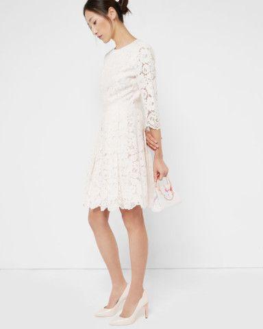 AMEEYA Lace skater dress. Skater DressesWomen's ...