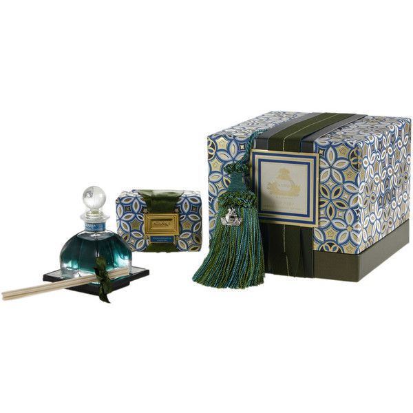 Agraria Mediterranean Jasmine Gift Suite (215 CAD) ❤ liked on Polyvore featuring home, home decor, home fragrance, red, agraria home fragrance, agraria diffuser, red tray, flower stem and agraria