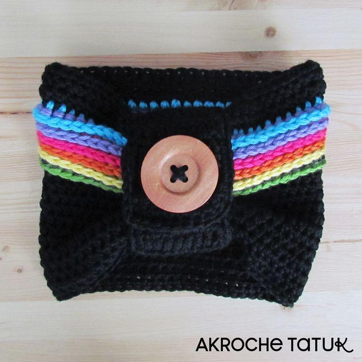 Crochet cowl pattern  Cache-cou patron au crochet