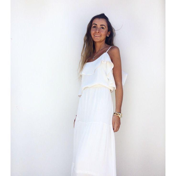 White dress Maxi dress
