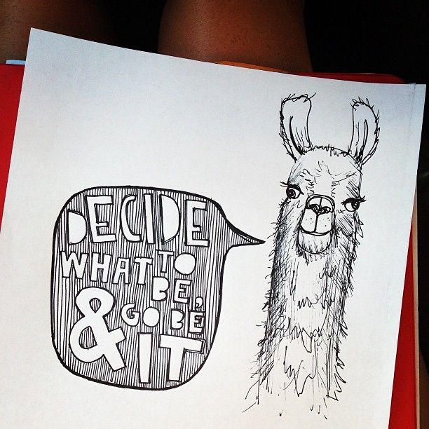 Llamas Quotes Inspirational: Fit Personality-motivational Llama
