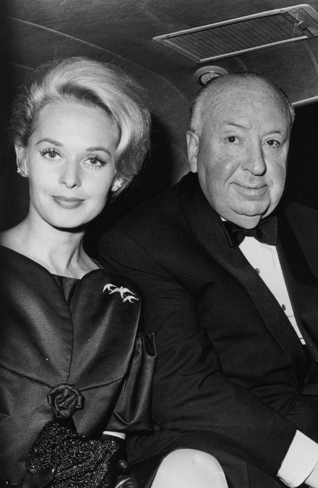 Tippi Hedren et Alfred Hitchcock