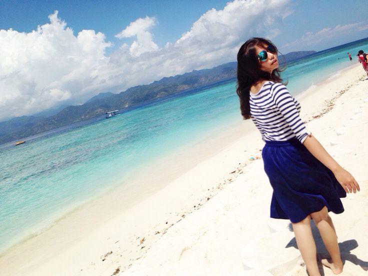 Gili Trawangan Indonesia. Blue and beautiful place ❤️❤️❤️