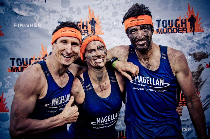 Tough Mudder 2012 with Paris Basson, Carrie Ade and Darryl Nelson.