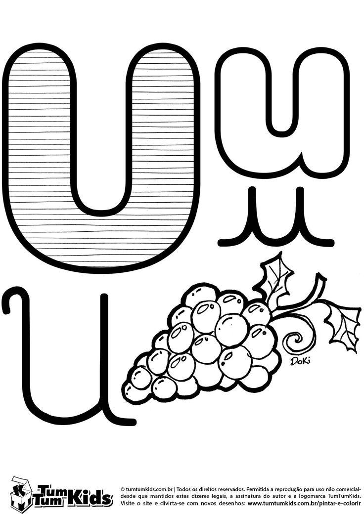 doki-alfabeto-letra-u-imprimir