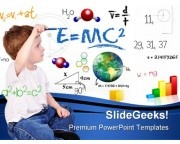 Child Education PowerPoint Background And Template 1210