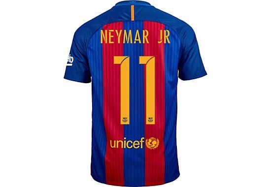 2016/17 Nike Neymar FC Barcelona Home Jersey. Shop for yours at SoccerPro!