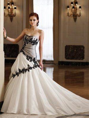 Sexy emo Wedding Dresses 2013 | Imágenes de Vestidos de Novia Modernos Gorgeous www.adealwithGodbook.com