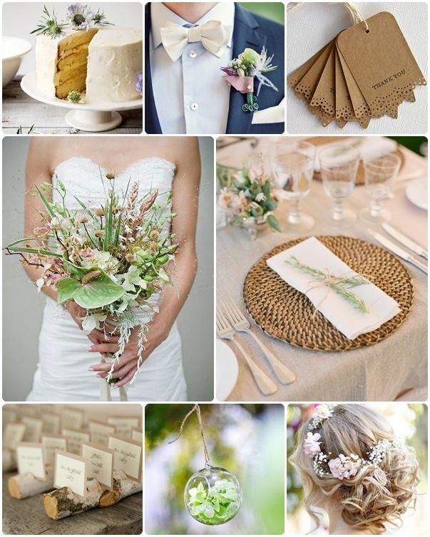 Natural Wedding Inspiration