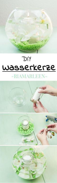 DIY Wasserkerzen basteln – 2 schöne Varianten – lovely diys – Sabine Kremer