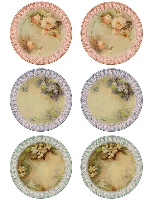 Lilac & Lavender: Such fine china...
