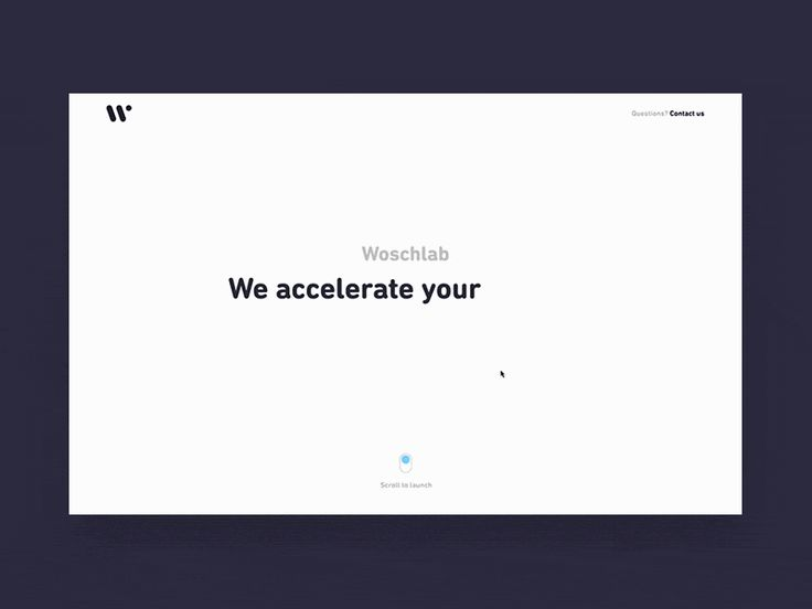 Hello earthlings! Here is a creative a concept for the landing page of our dear friends at Woschlab! Scroll up for launch and aim for the stars!  Press L for some love   Check out our Behance, Fac...#ZENUI 5.0