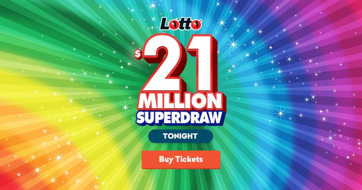 Last chance to get your entry in tonight's $21,000,000 Superdraw! You definitely don't want to miss this one - buy your ticket online now.