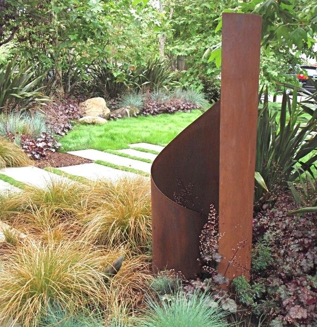 15 Outstanding Contemporary Landscaping Ideas Your Garden: 56 Best Images About Sheet Metal On Pinterest