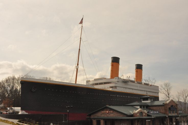 The Titanic Museum in Pigeon Forge - What an amazing attraction!