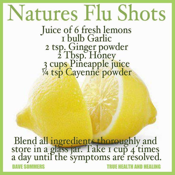 The best way to deal with the flu is to NOT get it by keeping your body as healthy as possible, without getting the flu shot!!!