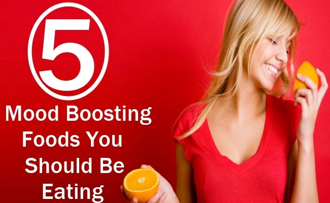 5 Mood Boosting Foods You Should Be Eating