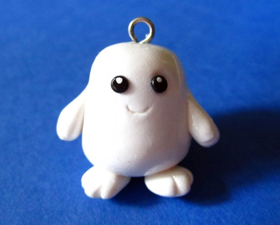 Doctor Who Adipose Charm Necklace