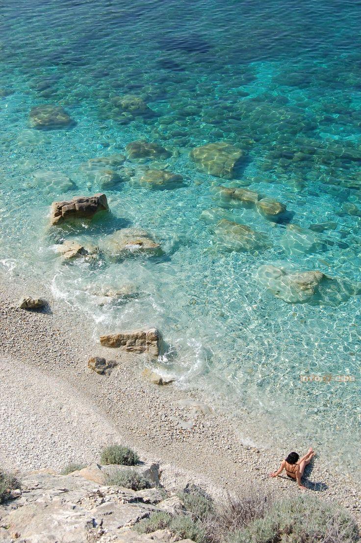 Spiaggia di Sansone. Isola d' Elba.