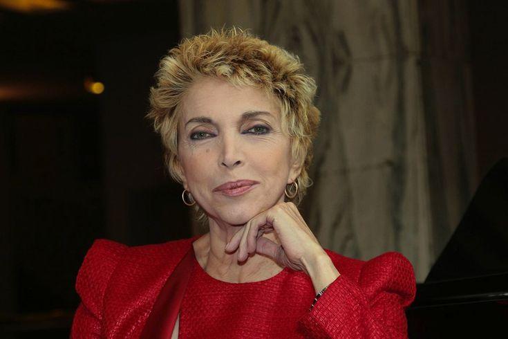 Mariangela Melato durante la presentazione della commedia Filomena Marturano  (Foto Cosima Scavolini/Lapresse)